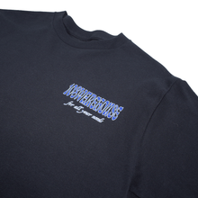 Load image into Gallery viewer, 108Warehouse Shop tee - Black/Blue <Br> Size All