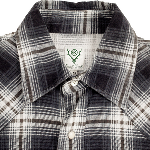 south2 west8 flannel <Br> size medium