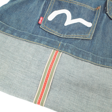 Load image into Gallery viewer, Evisu jean tote <Br>  Size OS