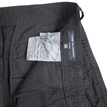Load image into Gallery viewer, comme des garcons homme black cargo pants <Br> size SS