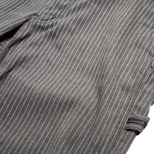 engineered garments grey striped trousers <Br> size 30