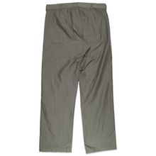 Load image into Gallery viewer, CDG Homme Khaki rayon trousers <Br>  Size Small