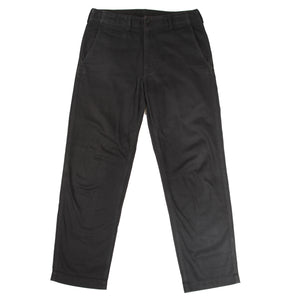 comme des garcons homme black trousers <Br> size extra small