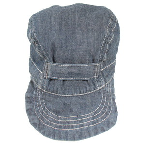 engineered garments - indigo / chambray cap <Br> size OS