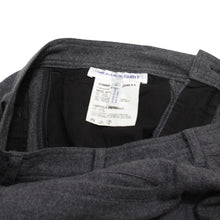 Load image into Gallery viewer, Comme Des Garcon Shirt Grey Wool Pants <Br> Size Small