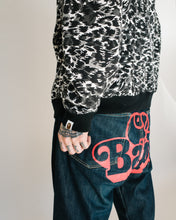 Load image into Gallery viewer, A Bathing Ape Leopard Camo Full Zip Hoodie <Br> Size Extra Large