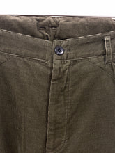 Load image into Gallery viewer, visvim khaki cord pants <Br> Size Large