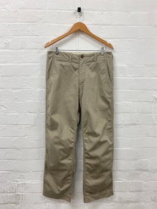 CDG Homme beige work pants <Br> Size Small
