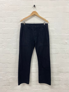 CDG Homme navy work pants <Br> size Small