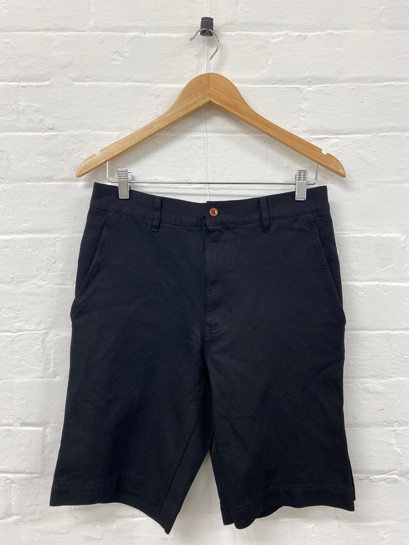 CDG Homme plus black polyester shorts <Br> size Small