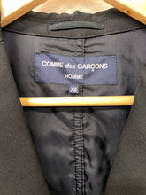 Load image into Gallery viewer, CDG Homme black blazer <Br> Size XS