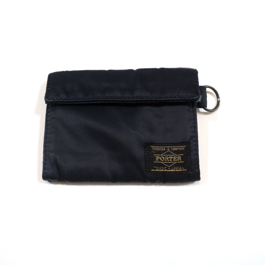Head Porter Trifold Black Wallet <Br> Size OS