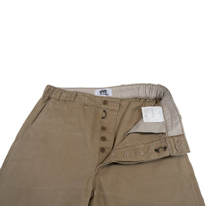 eye junya watanabe comme des carcons man x le laboureur beige work pants <Br> size extra small