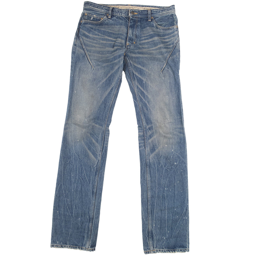 Number (N)ine Faded Indigo Jeans <Br> Size 4