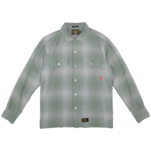 WTAPS Checkered L/S Shirt <Br> Size Large