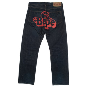 A Bathing Ape Jeans <Br> Size Large