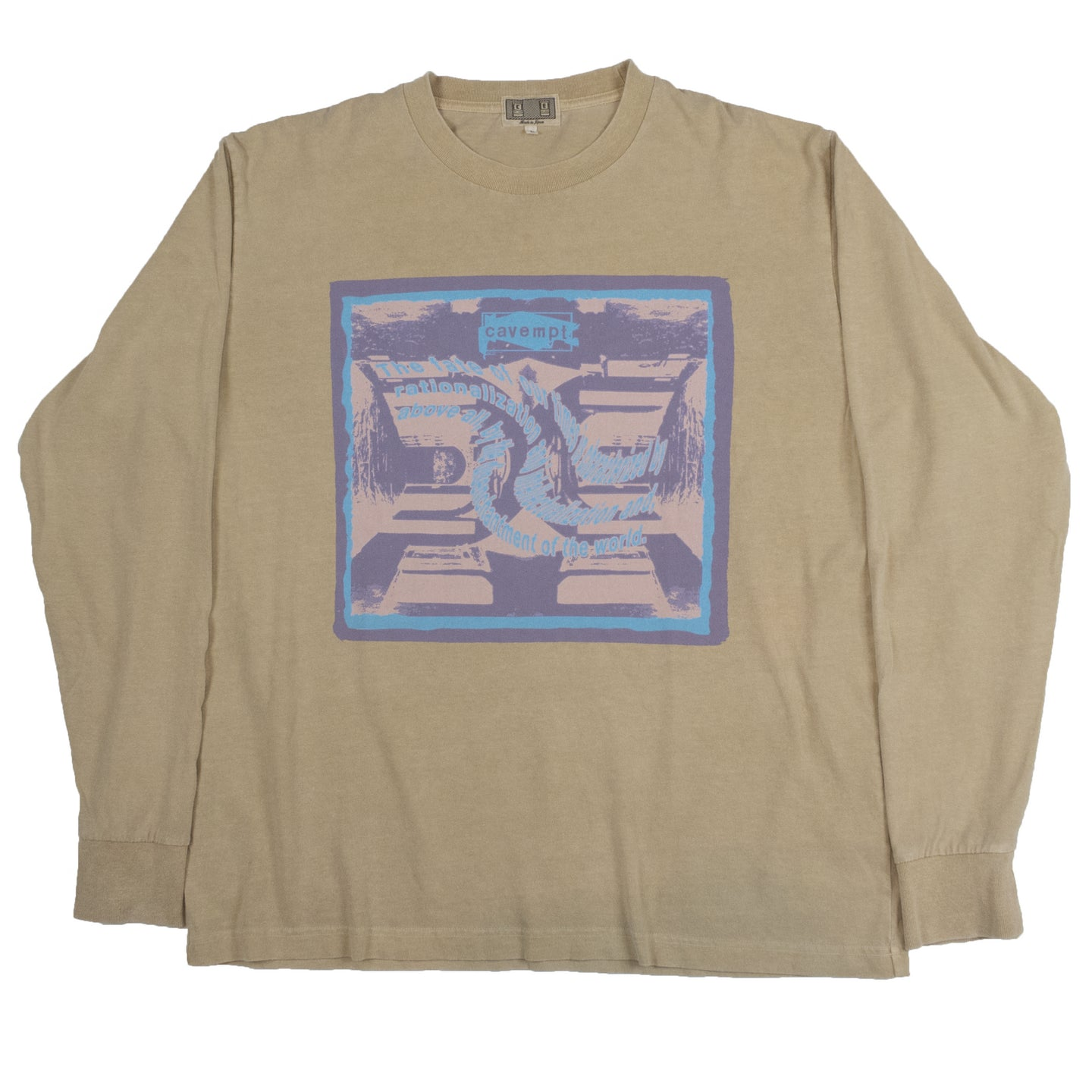 Cav Empt Disenchantment Long Sleeve <Br> Size Large