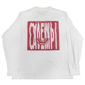 Cav Empt long sleeve white <Br> Size Large
