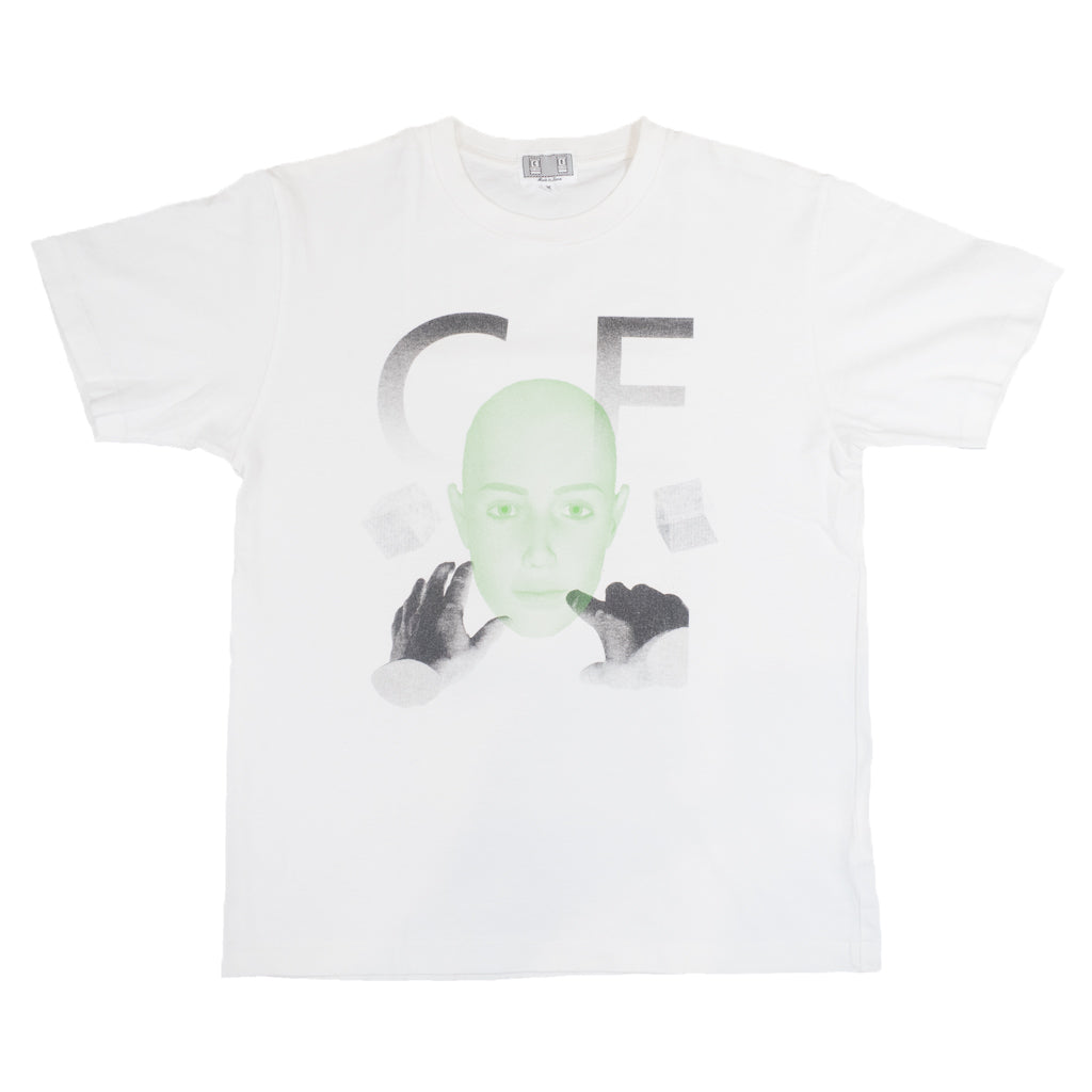Cav Empt White Tee <Br> Size Medium