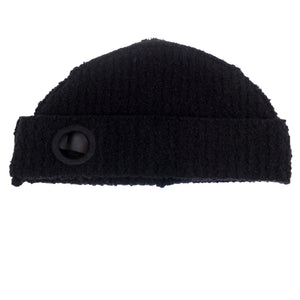 Craig Green Black Wool Boucle Eyelets Beanie <Br> Size OS