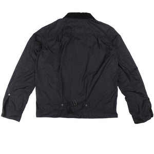 Comme des Garcons Homme Garment Dyed Ester Twill Jacket Black <Br> Size Large