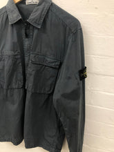Load image into Gallery viewer, stone island grey overshirt <br> size xl