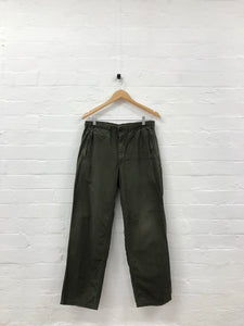 needles khaki tracksuit pants <Br> size small