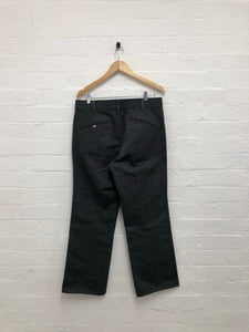 Needles grey work pants <Br> Size large
