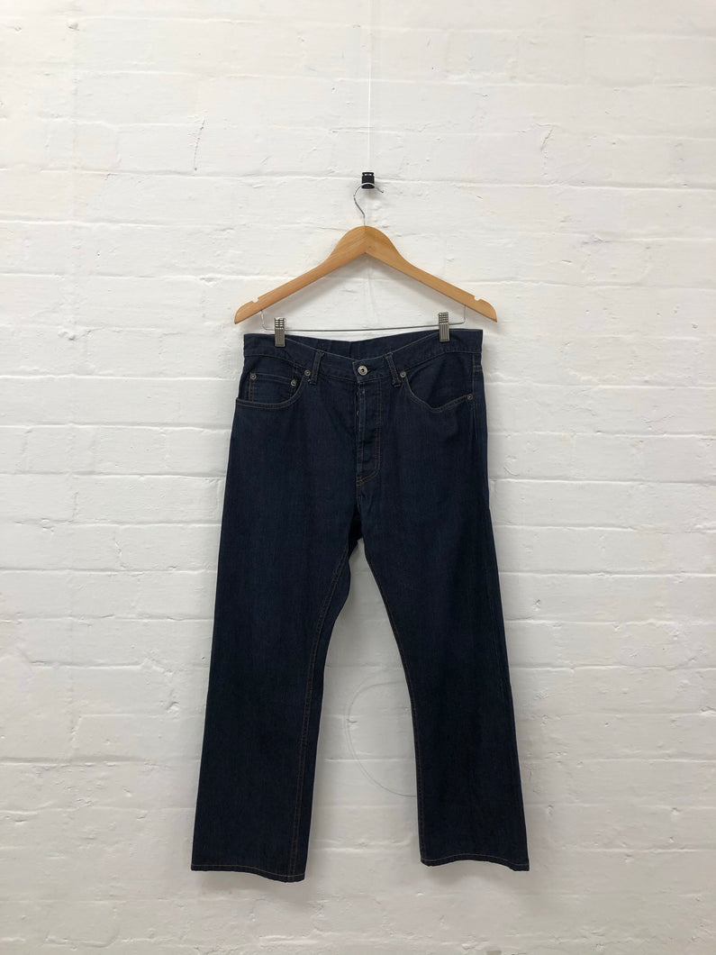 engineered garments denim indigo jeans <Br> Size 32