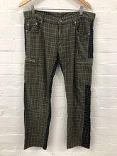 Load image into Gallery viewer, neighborhood contrast grid pants <br> size large