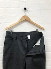 Load image into Gallery viewer, needles grey denim work pants <Br> size M