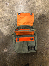 Load image into Gallery viewer, Porter x Beams two pocket khaki pouch <Br> size OS