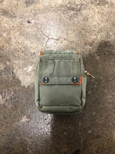 Porter x Beams two pocket khaki pouch <Br> size OS