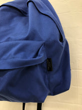 Load image into Gallery viewer, comme des garcons homme plus blue canvas bag <Br> size os
