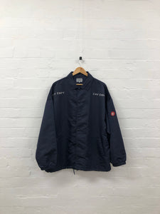 cav empt fig-nav jacket <br> size large