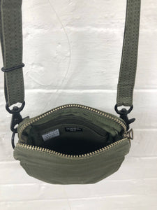 porter khaki small bag <br> size OS