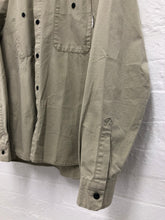 Load image into Gallery viewer, Neighborhood beige ripstop overshirt <Br> Size Large