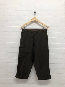 South2West8 3/4 brown pants <Br> size Small