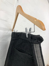 Load image into Gallery viewer, comme des garcons homme plus grey stripped jeans <Br> size S