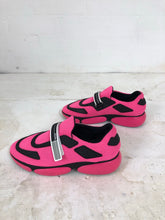 Load image into Gallery viewer, Prada pink/black cloudbursts <br> size US8