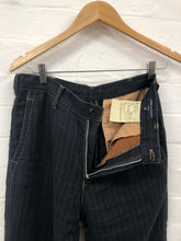 Load image into Gallery viewer, comme des garcons homme linen striped pants <Br> size small