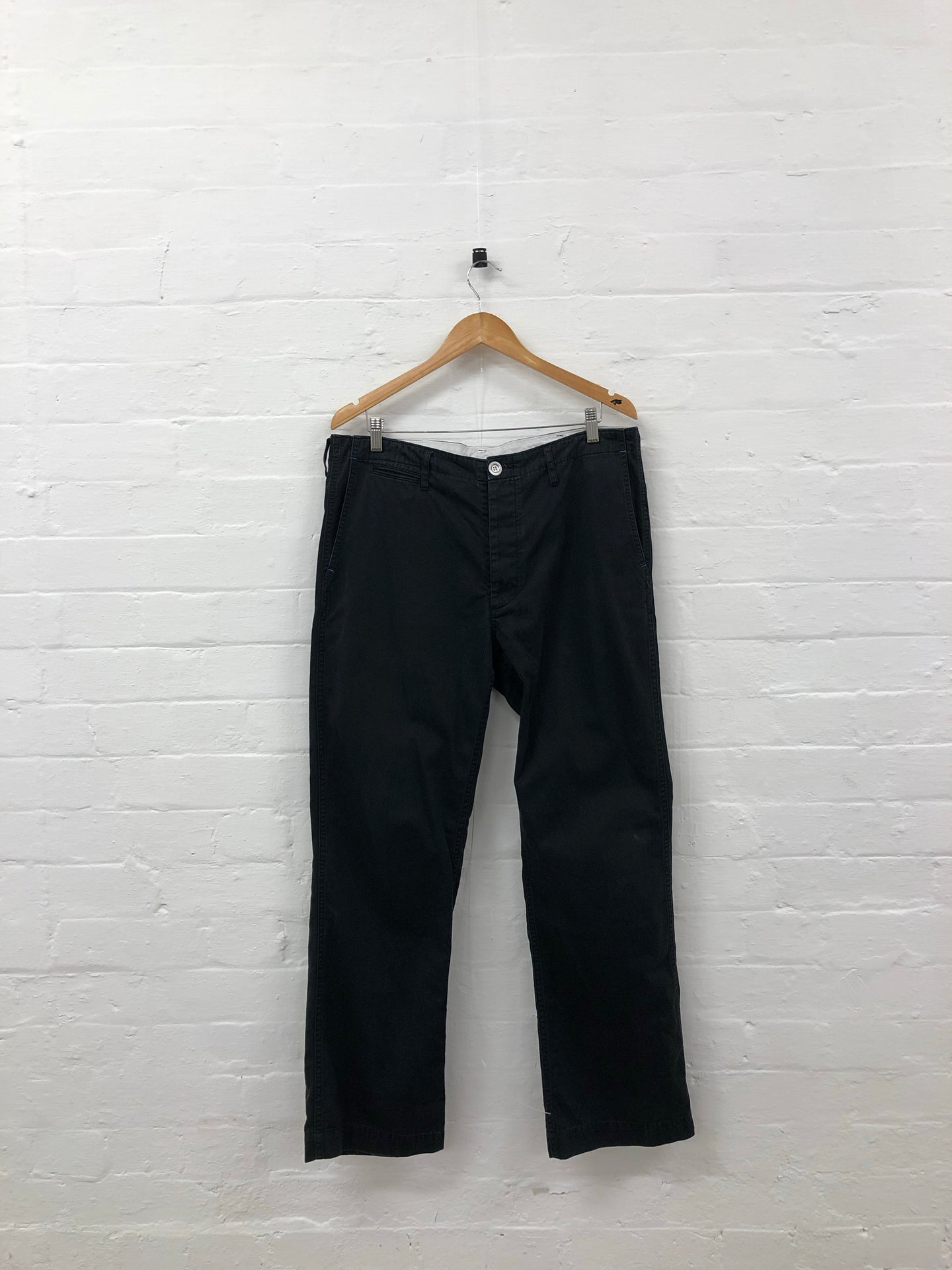 visvim black pants <Br> size xl