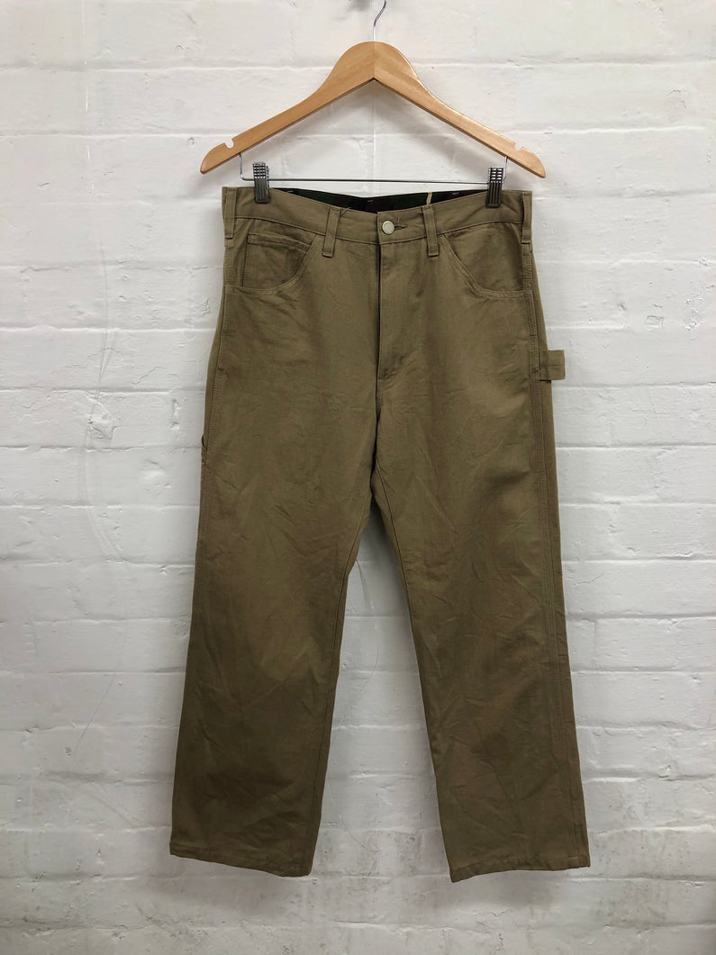 CDG Homme beige carpenter pants <Br> Size Small