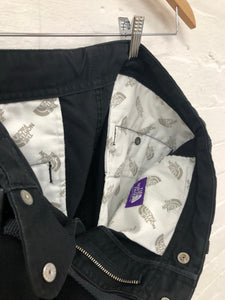 tnf purple label black twill pants <br> size 32