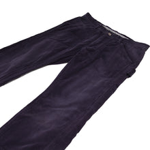 Load image into Gallery viewer, number (n)ine purple corduroy pants <Br> size small