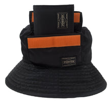 Load image into Gallery viewer, Head Porter x Beams Black Tanker Bucket Hat <Br> Size OS