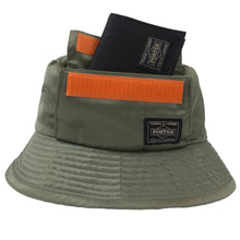 Load image into Gallery viewer, Head Porter x Beams Khaki Tanker Bucket Hat <Br> Size OS