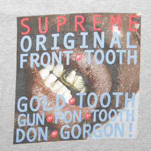Supreme Gold Tooth Tee <Br> Size Large