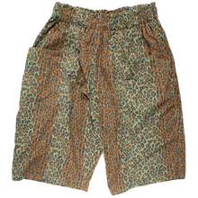 Load image into Gallery viewer, south2 west8 leopard army string shorts <Br> size medium