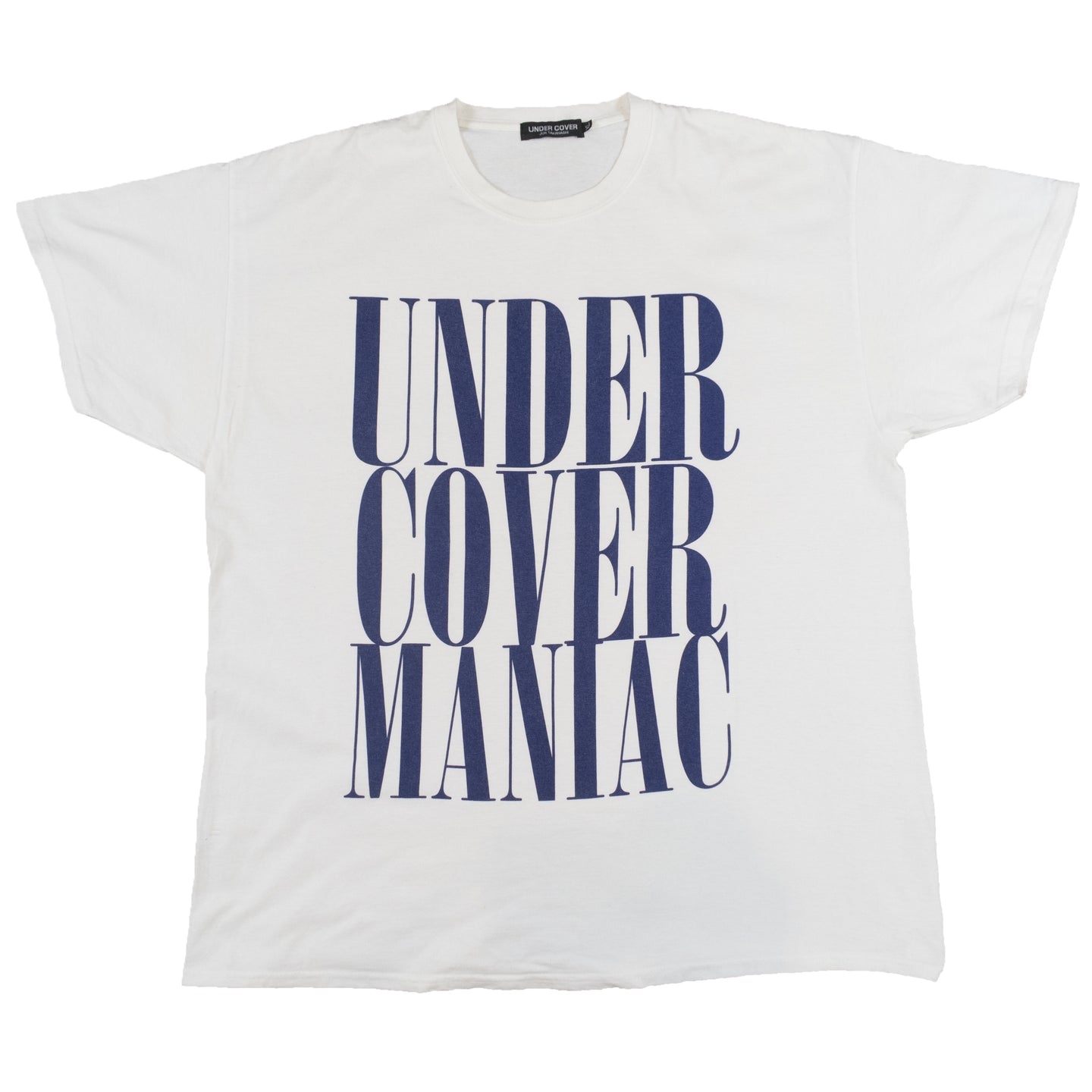Undercover Maniac Tee Shirt <Br> Size Extra Large